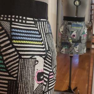Milly pop art mini skirt!